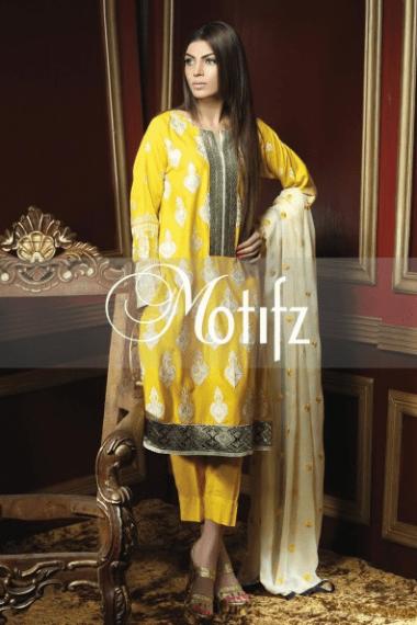 Motifz Winter Dresses 2014 For Women 008