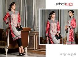 Rabea Kurti Collection 2014 by Shariq Textiles 11