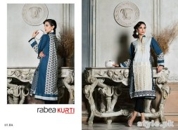 Rabea Kurti Collection 2014 by Shariq Textiles 7