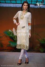 Sanober Azfar Ready To Wear Dresses 2014 For Women 001