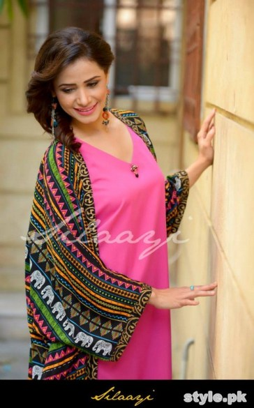 Silaayi Winter Dresses 2014 For Women 4