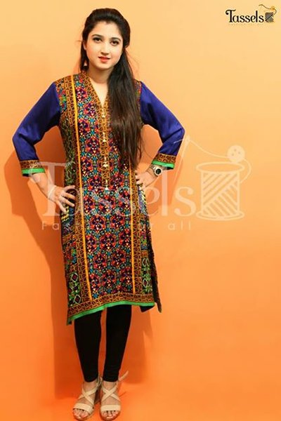 Tassels Winter Dresses 2014 For Women 003