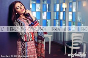 Thredz Cambric Dresses 2014 For Winter 4