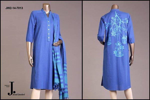 Junaid Jamshed Pret Wear Dresses 2014 For Women 004