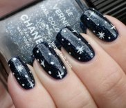 Latest Nail Art Designs 2014 For New Year 001