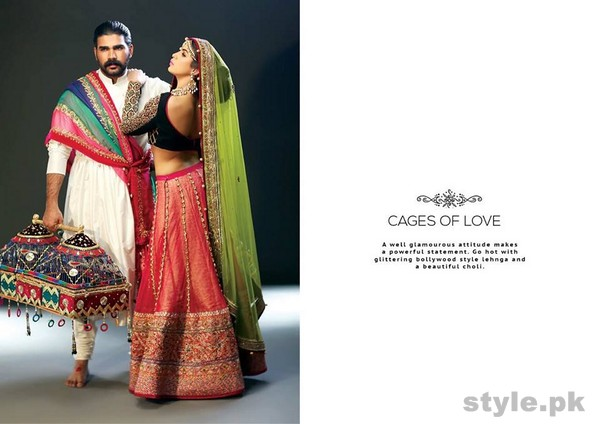 Mohsin Naveed Ranjha Bridal and Groom Dresses 2014 8