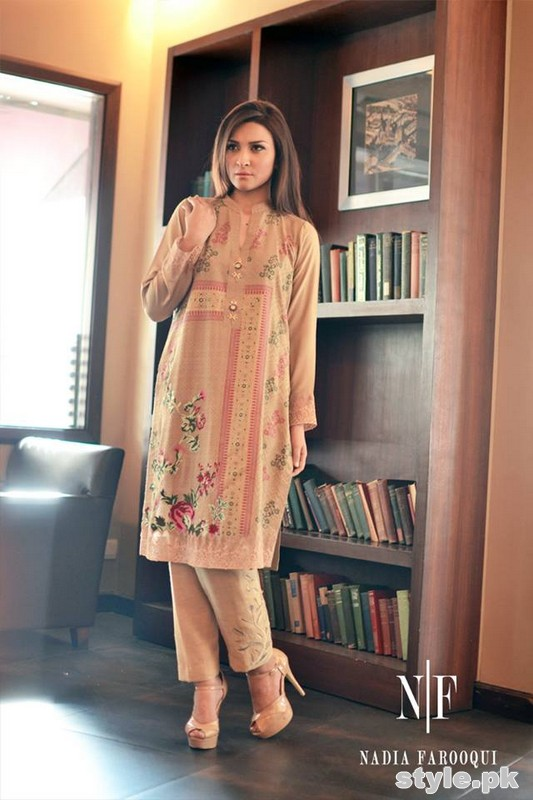 Nadia Farooqui Winter Dresses 2014-15 For Women 7