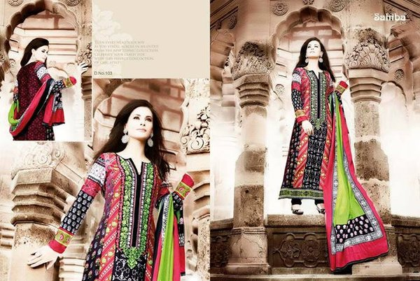 Pakistani Dresses For Girls 2015 004