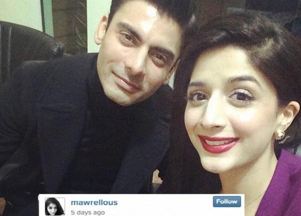 mawra hocane and fawad khan