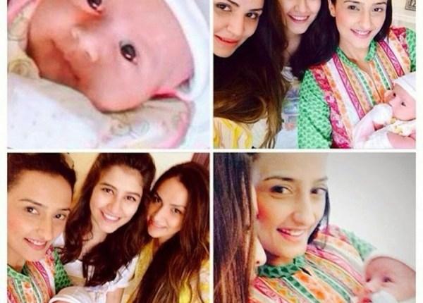 shehroz sabzwari daughter pictures