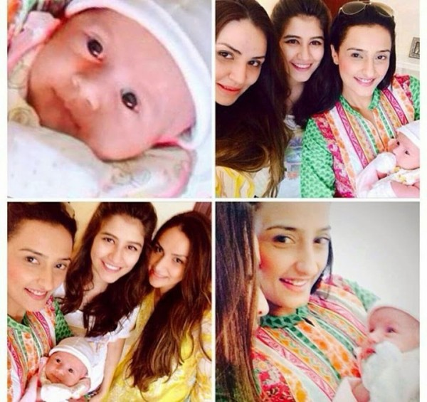 Syra Yousuf And Shehroz Latest Photos With Daughter Nooreh