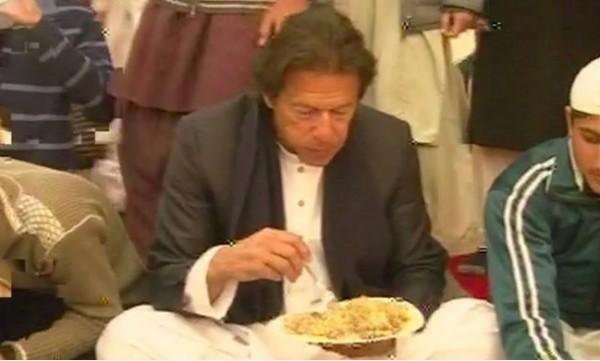 Imran khan walima pictures