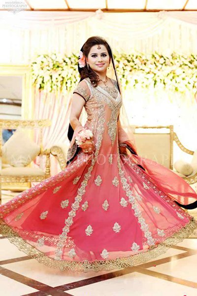 Pakistani Baraat Dresses 2015 For Girls 003