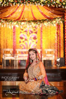 Pakistani Mehndi Dresses 2015 For Girls 004