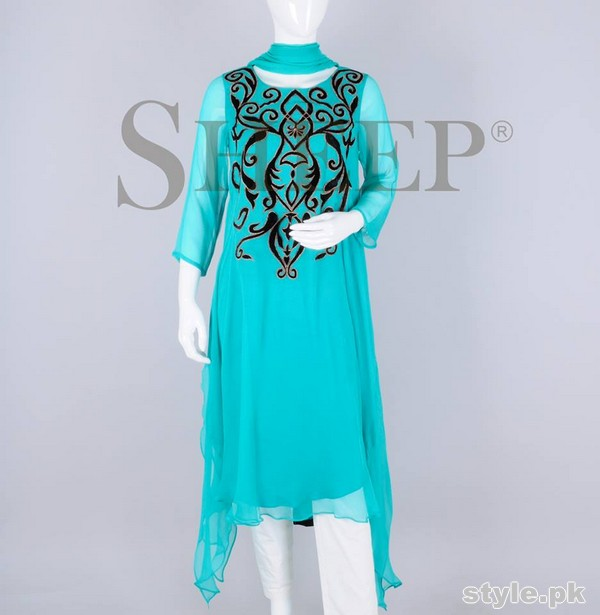 Sheep Party Wear Dresses 2015 For Girls 8