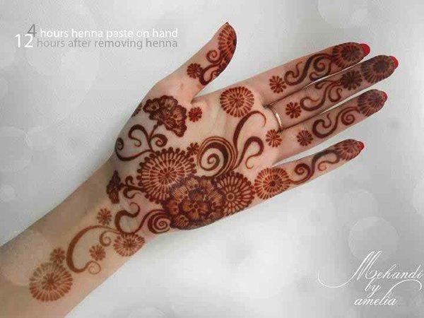 Simple Mehndi Designs- Beautiful Mehndi Designs 009