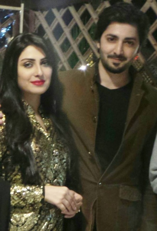 ayeza khan and danish taimoor lovely