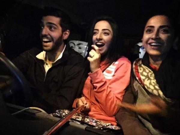 Sanam Chaudhry Having Fun