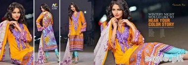 Ajwa Textile Charismatic Collection 2015 For Summer 1