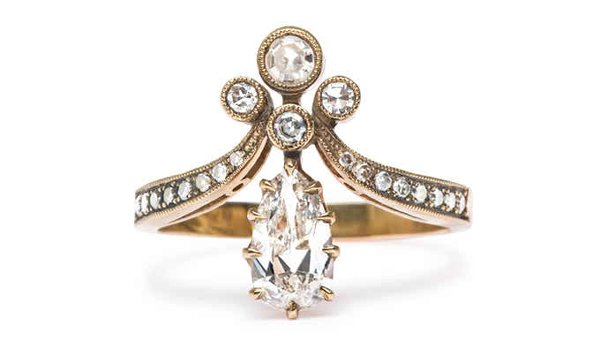 New Designs Of Antique Engagement Rings 2015 004