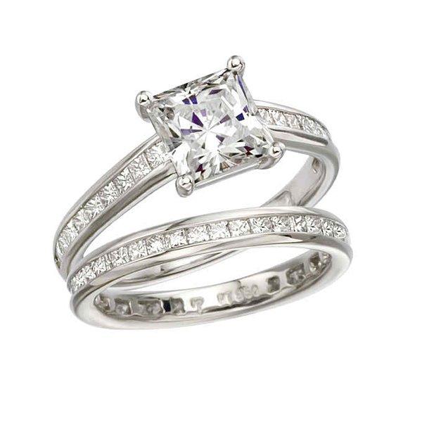 New Designs Of Princess Cut Engagement Rings 0016