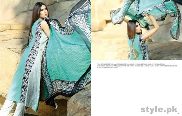 Subhata Embroidered Collection 2015 Shariq Textiles 11