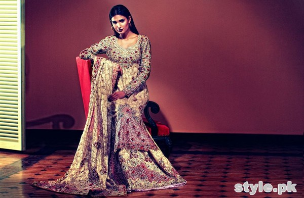 Tena Durrani Bridal Wear Dresses 2015 For Women 3