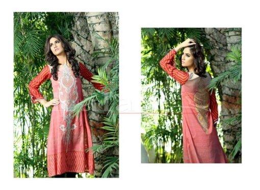 Lala Textiles Sana & Samia Collection 2015 Volume 2 For Women 008