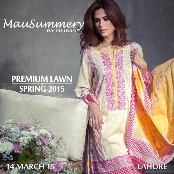 Mausummery By Huma Summer Collection 2015 For Women -11