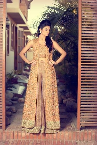 Mifrah Party Wear Collection 2015 For Women 003