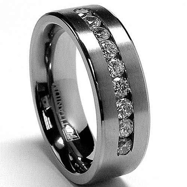 New Designs Of Men Wedding Rings 004