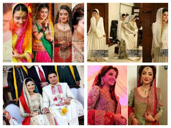 Which Pakistani TV Actress Looks Beautiful On Her Wedding day