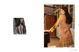 ZS Textile Embroidered Lawn Collection 2015 For Women 0013