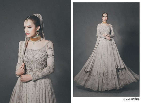 Fahad Hussayn Bridal Dresses 2015 For Women 004