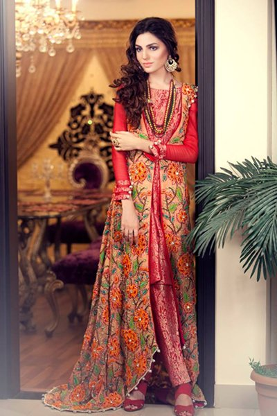 Kanav Evening Wear Collection 2015 For Women