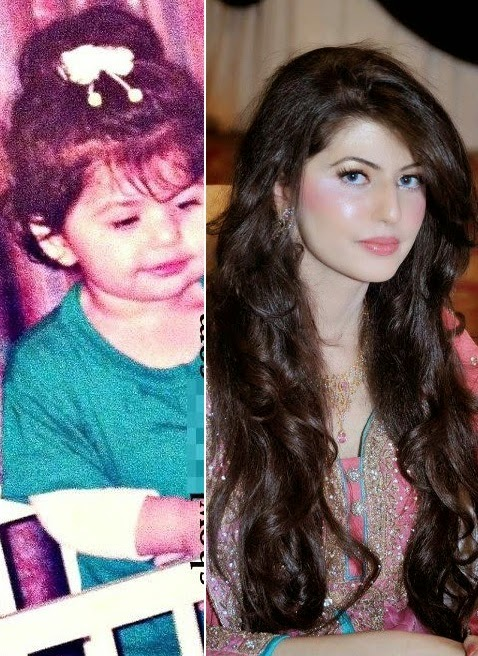anam ahmad childhood pictures