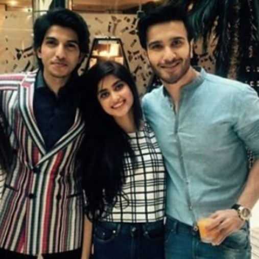 feroze khan and sajal at 3rd hum awards