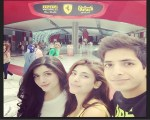 hocane sisters with brother