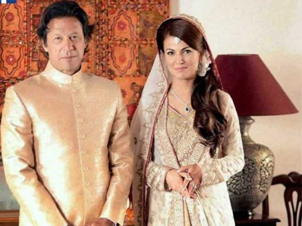 imran khan and reham khan marriage pics