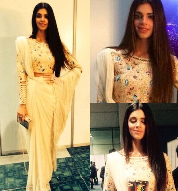 sanam saeed at hum awards Pakistani Actresses Who Rocked The Red Carpet At 3rd Hum Awards