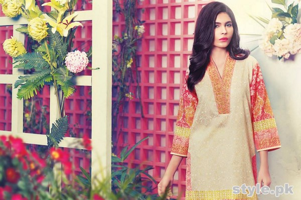Ethnic by Outfitters Summer Collection 2015 For Girls 7