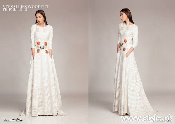 Fahad Hussayn Midsummer Dresses 2015 For Women 3