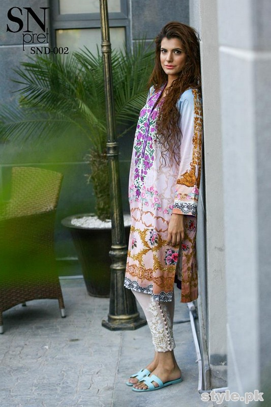 Sobia Nazir Pret Wear Collection 2015 For Women 5