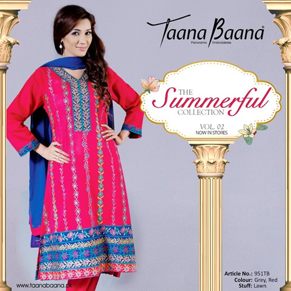 Taana Baana Summer Collection 2015 Volume 2 For Women0012