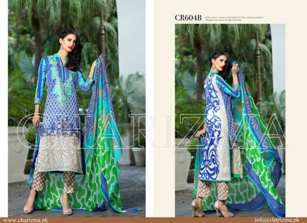 Charizma Lawn Collection 2015 Volume 2 For Women004
