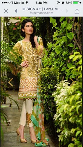 Crescent Eid Collection 2015 By Faraz Manan008