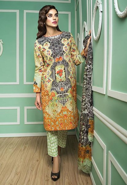 Cross Stitch Eid Collection 2015 For Women009