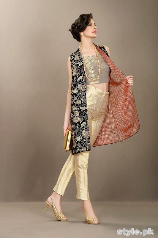 Silk by Fawad Khan Eid Dresses 2015 For Girls 3