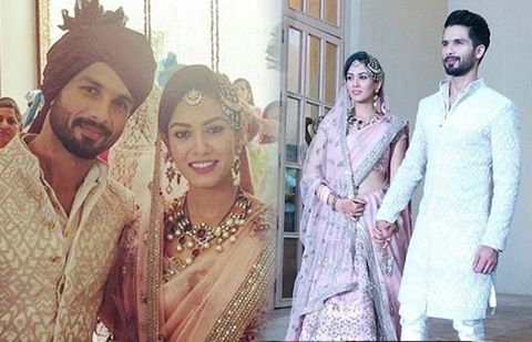 shahid kapoor wedding