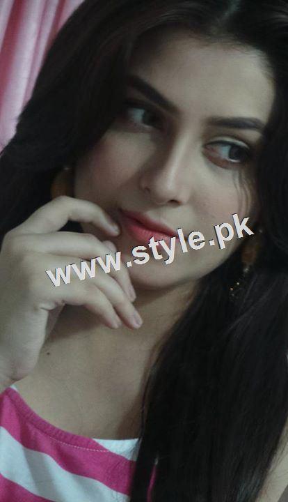 See Ayeza Khan is back to work
